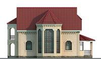Фасад 2 :: Проект коттеджа 51-31