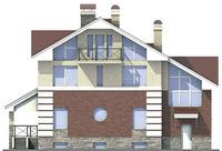 Фасад 2 :: Проект коттеджа 53-74