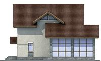 Фасад 3 :: Проект коттеджа 54-16