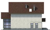 Фасад 4 :: Проект коттеджа 54-16