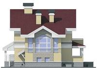 Фасад 4 :: Проект коттеджа 55-04