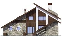 Фасад 2 :: Проект коттеджа 55-66