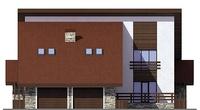 Фасад 3 :: Проект коттеджа 55-66