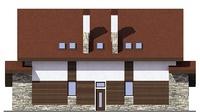 Фасад 4 :: Проект коттеджа 55-66