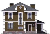 Фасад 1 :: Проект коттеджа 55-72