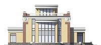 Фасад 1 :: Проект коттеджа 55-89
