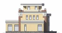 Фасад 4 :: Проект коттеджа 55-89
