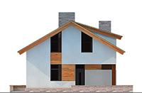 Изображение фасада 1 :: Проект коттеджа 62-54