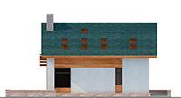 Изображение фасада 4 :: Проект коттеджа 62-54