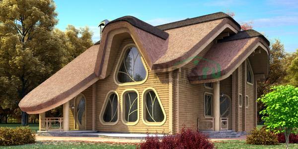 интерьеры покрашенных деревянных домов картинки.