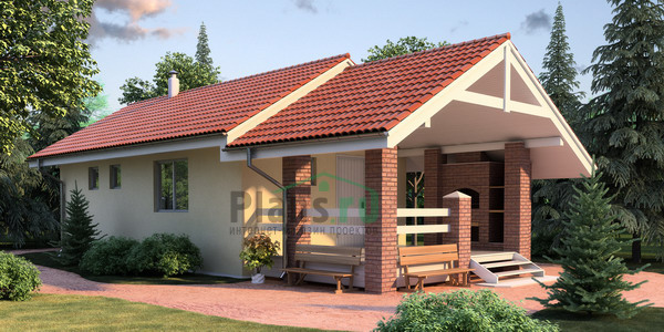 кирпичные дома до 100 м - Нужные схемы и описания для всех.