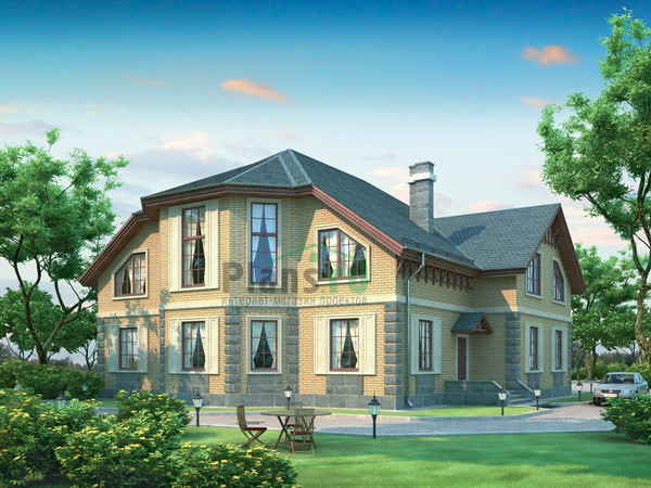 внешнего вида дома из кирпича 31-61