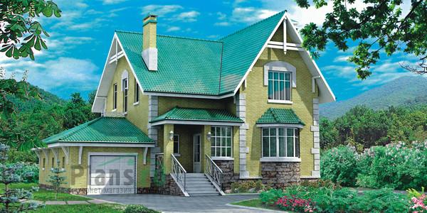Изображение внешнего вида дома из