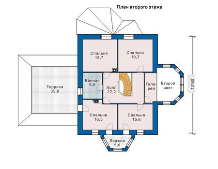 План второго этажа :: Проект 51-31