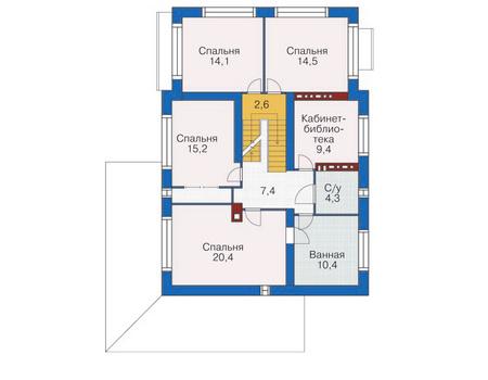План второго этажа :: Проект 53-74