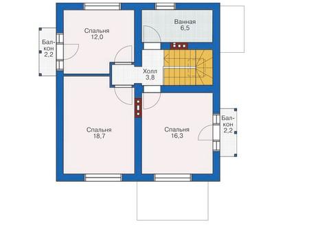 План второго этажа :: Проект 53-98
