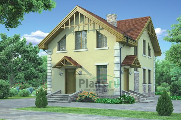 Внешний вид проект дома 54 35