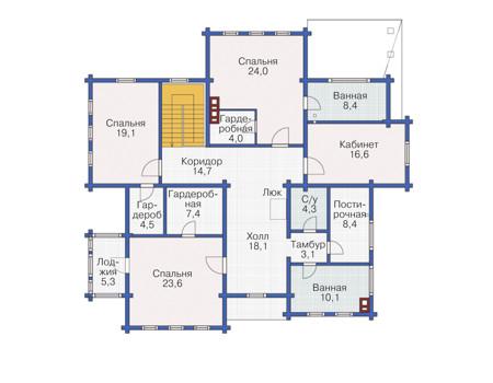 План второго этажа :: Проект 54-41