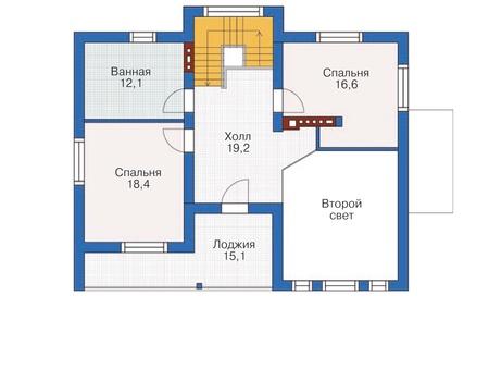 План второго этажа :: Проект 54-45