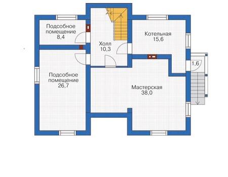 План цокольного этажа :: Проект 54-45