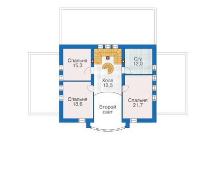 План второго этажа :: Проект 55-89
