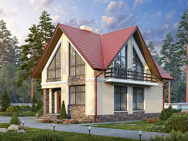 Проект дома 25755