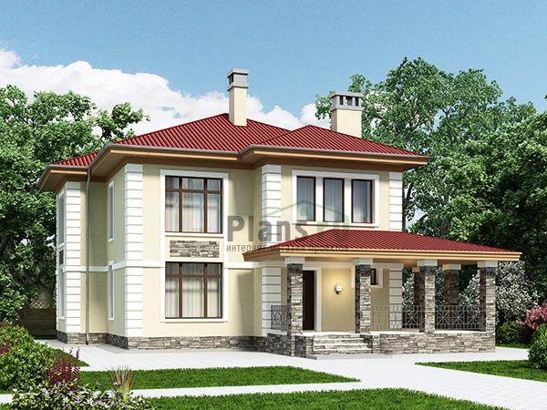 Проекты домов из газобетона до 170