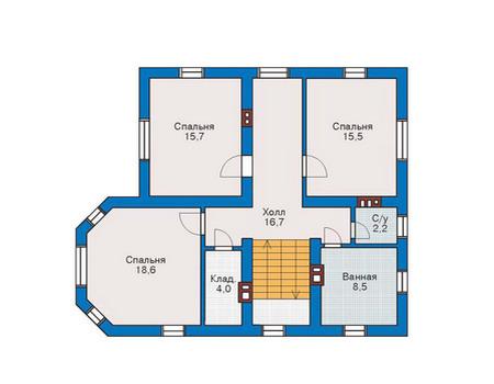 Projektový dom 10 na 10 2 poschodia