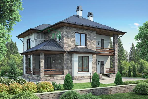 Проект кирпичного дома 72 49 интернет