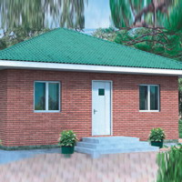 100 кв м кирпичный дом домашний