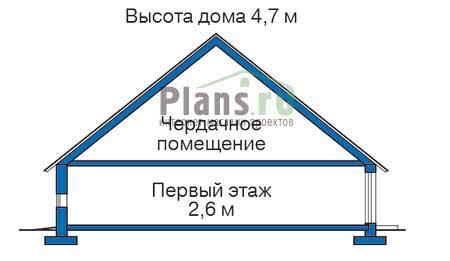 Высота этажей в проекте деревянного дома 10-45
