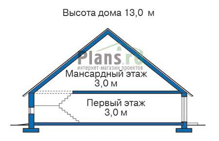 Высота этажей в проекте деревянного дома 11-31