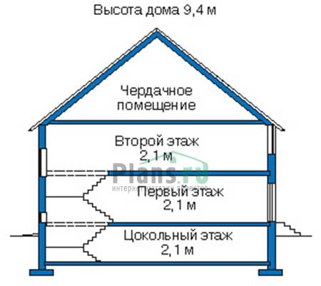 Высота этажей :: Проект 30-94