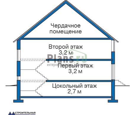Высота этажей :: Проект 32-77
