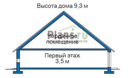 Высота этажей :: Проект 34-96