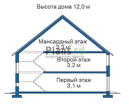 Высота этажей :: Проект 35-16