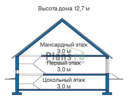 Высота этажей :: Проект 35-45