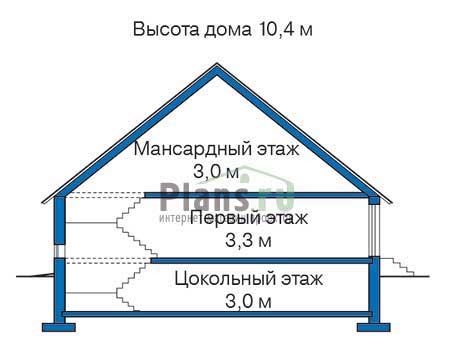Высота этажей :: Проект 35-67