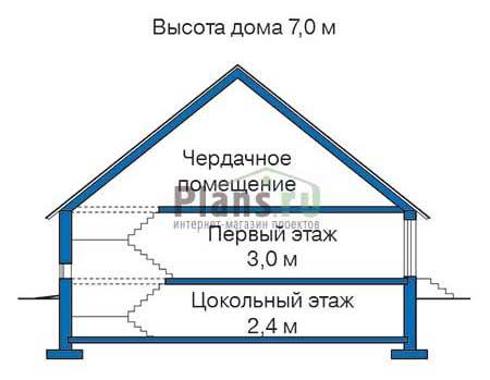 Высота этажей :: Проект 35-96