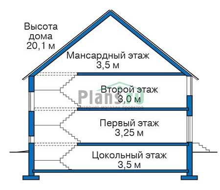 Высота этажей :: Проект 36-24