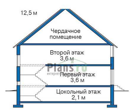Высота этажей :: Проект 36-64