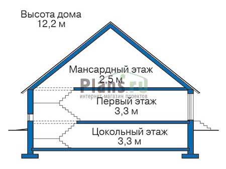Высота этажей :: Проект 36-65