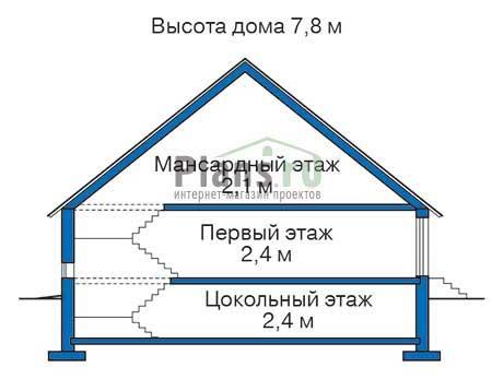 Высота этажей :: Проект 37-65