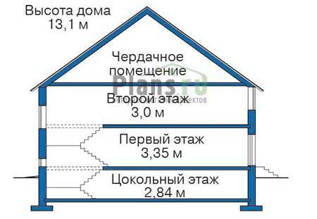 Высота этажей :: Проект 38-00