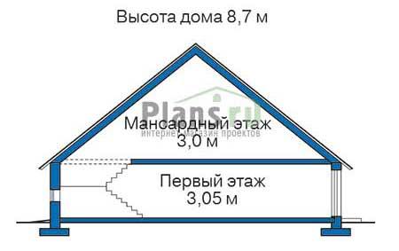 Высота этажей :: Проект 38-01