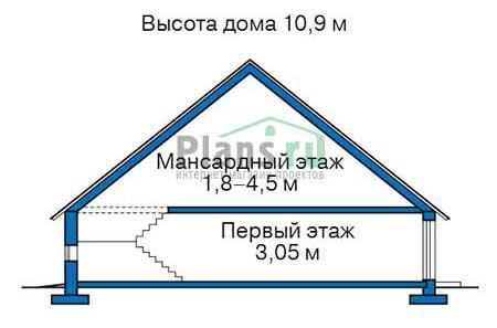 Высота этажей :: Проект 38-31
