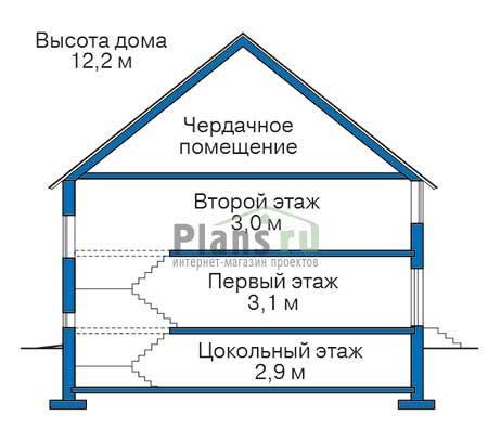 Высота этажей :: Проект 38-51
