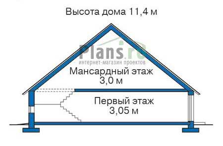 Высота этажей :: Проект 38-60