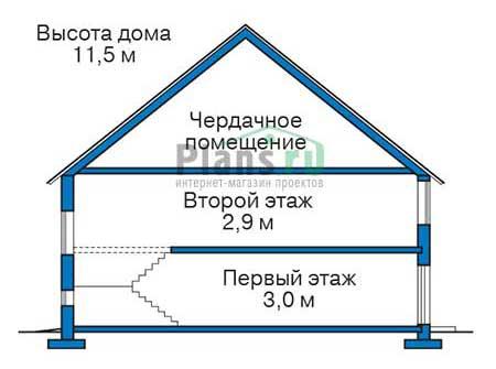 Высота этажей :: Проект 39-43