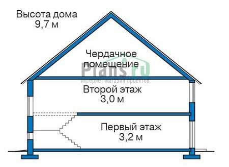 Высота этажей :: Проект 39-45